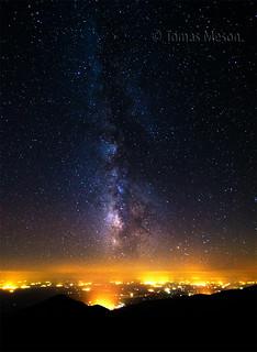 noche estrellada en la Sierra de Gredos ( Spain ) _DSC4598 r c esf ma