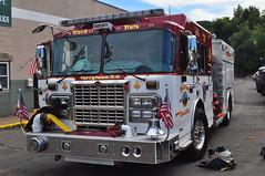 Tarrytown Fire Department Riverside Hose Co. No. 4 Engine 80 (Triborough) Tags: ny newyork crimson engine firetruck fireengine nyack spartan tfd rocklandcounty engine80 tarrytownfiredepartment riversidehosecono4 riversidehosecompanyno4