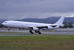 Hi Fly CS-TQZ, OSL Gardermoen (Inger Bjrndal Foss) Tags: norway airplane fly hi osl gardermoen cstqz