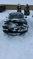 2013 February 8 through 9 - Winter Storm Nemo (Mark of Bethel) Tags: snow mazda blizzard miata bethel mx5 winterstormnemo
