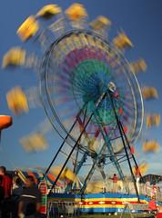 2013 Coffee Co. Fair: Astro Wheel in the Day (SeeMidTN.com (aka Brent)) Tags: manchester ride tn tennessee 1967 ferriswheel midway countyfair amusementride blurredmotion coffeecounty nd16 astrowheel bmok coffeecountyfair 2013coffeecountyfair