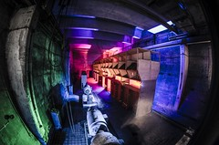 Below the decks (Kunfy Nomyek) Tags: urban underground nikon fisheye 8mm samyang d7k d7000