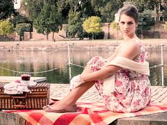 'Le Pique-Nique' (JonathanPosnerPhoto) Tags: pink fashion french picnic fifties fashionphotography retro chic frenchstyle fashionshoot fashionmodel piquenique vintagedress