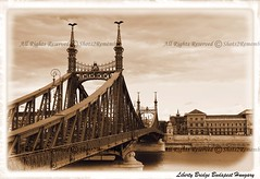 Liberty Bridge Budapest Hungary (PictureJohn64) Tags: road city bridge building water architecture buildings liberty nikon europa europe flickr hungary budapest transport sigma historic architect historical brug oud stad weg gebouw donau balkan historique historisch histórico hongarije historisk architectuu d5100 picturejohn64 shots2remember oververbinding