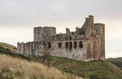 Crichton Castle (Margaret S.S) Tags: old building castle scotland ancient edinburgh ruin crichton lothian margaretssweeny vision:mountain=0581 vision:outdoor=099