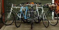 My Capricorns (guidedbybicycle) Tags: handmade steel bikes custom
