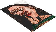 Picasso - Tete de femme - Dora Maar - LEGO Mosaic (rasesp) Tags: lego mosaic femme mosaico picasso tete pablopicasso doramaar tetedefemme