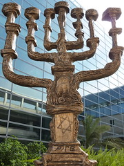 SALAVADOR DALI MENORAH REPLICA -BEN GURION AIRPORT (Qu4ttroPhoto) Tags: sunset sea vacation history beach archaeology water photography israel photo airport mediterranean postcard madonna prayer religion pray praying scenic clocktower jaffa jewish bible zionism judaism dali salvadordali picturesque pilgrimage starofdavid kabbalah torah menorah bengurion lod yaffo oldjaffa azrielicenter tealaviv jewishstate jerusalembeach azrielitower tourismtravel stickyandsweet stickysweettour azrieliobservatory dalimenorah