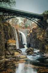 Great Falls of the Passaic River (Photos By RM) Tags: park new bridge usa canon river eos waterfall long exposure extreme great nj landmark falls national 7d jersey historical service paterson hdr passaic lightroom the