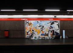 CAIROLI (Metro Centric) Tags: milan poster milano rip ripped torn shred