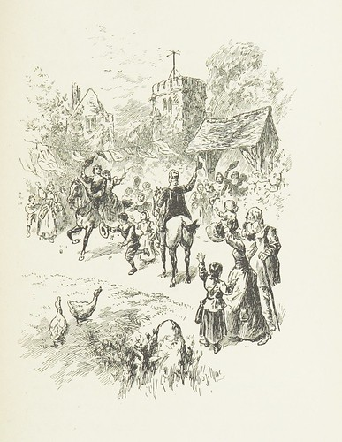 """Image taken from page 351 of '[Cherry & Violet, a tale of the Great Plague. By the author of """"Mary Powell"""" [i.e. Anne Manning].]'"""