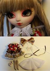 """Pullip FC """"Michiko"""" by Nikola Doll (Nikola Doll) Tags: new outfit candy sweet handmade lace ooak lolita kawaii pullip custom fc michiko 2013 bynikoladoll"""