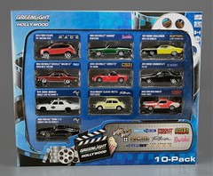 GREENLIGHT HOLLYWOOD 10-PACK includes cars from BEWITCHED, SMOKEY & THE BANDIT 2, CSI, FRIGHT NIGHT, CATCH ME IF YOU CAN, FOOTLOOSE etc 1:64 scale die cast Mint in Box (LUNZERLAND!) Tags: ford chevrolet volkswagen escape beetle chevelle malibu monaco camaro chevy policecar dodge greenlight pontiac fordmustang corvette mib challenger footloose dodgecharger bewitched diecast csimiami theamazingrace catchmeifyoucan csiny moviecar dodgechallenger tvtoys frightnight malibuss dodgemonaco moviecars mintinbox hollywoodcar diecastcar 10pack tvcar 1969chevroletcamaro 1971dodgechallenger 2005chevroletcorvette 1974dodgemonaco smokeyandthebandit2 164scale hollywoodcollection volkswagenclassicbeetle ncislosangeles 1966fordmustanggt smokeyandthebanditii 2013fordescape hollywoodonwheels greenlighthollywood 2011dodgechargerrt hollywoodgreenlight greenlighthollywoodcollectables 1964chevroletchevellemalibuss 1980pontiacturbota