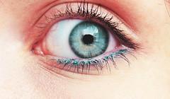 O thy eyes! (Hoppipolga) Tags: blue girl canon eyes occhi azzurro ragazza tennager ciglia