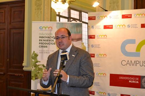 Pedro Antonio Sánchez en 'Diálogos CMN'