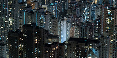 Mid-levels (Wim Storme) Tags: longexposure night hongkong lowlight dense