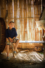 DSCF4596 (Chye Guan, Tan) Tags: travel people kids children laos luangprabang minoritytribe innocentkid fujixpro1 fujifilmxpro1 fujifilmxf23mm