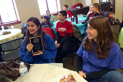 Trumbull got 3rd. #biblequizzing #midwinter (nomad7674) Tags: cameraphone church plaque team january nj bible trophy sparta quiz emailphoto quizteam midwinter iphone quizzing trumbull 2014 efca biblequizzing quizzers appleiphone 20140125