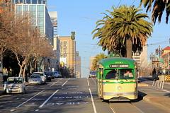The Last In A Long Line: Still In Service (Hunter Lohse) Tags: california ca railroad car train san francisco trolley railway muni streetcar railfan municipal pcc