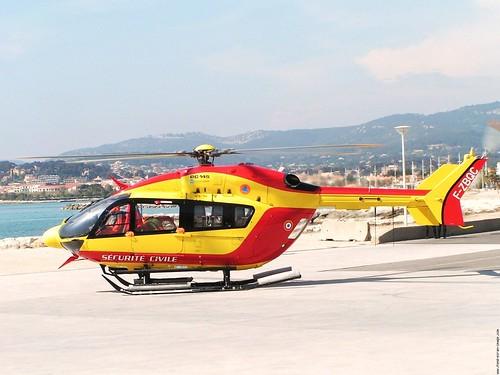 Hélico  EC-145 sécrurité civile