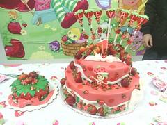 Strawberry Shortcake by www.birthdaycakes4free.com
