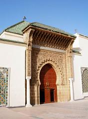 Mekns (Philippe LAURET, Paris) Tags: door architecture muslim islam religion mosque morocco mausoleum maroc porte islamic mosque musulman mausole mekns
