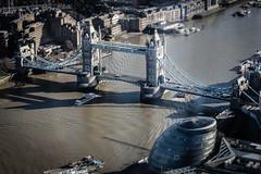 Tower Bridge and City Hall (Aaron Miller - Postcard Intellect) Tags: london thames towerbridge londonbridge miniature view cityhall stpauls landmarks londoneye bigben shard height toweroflondon batterseapowerstation viewingplatform tiltshift