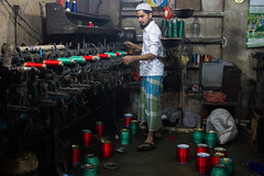 Thread Factory (tanayesh) Tags: india color colors thread colours kolkata westbengal canon60d threadfactory canon1855mmlense colourfulkolkata