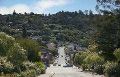 Sausalito hills. SAUSALITO, CA (vivelaruta66.com) Tags: sanfrancisco california road carretera roadtrip hills sausalito colinas