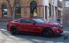 2015 Ford Mustang GT (Chance Hales) Tags: new red ford car shoot photoshoot pony prototype american mustang gt musclecar ponycar 2015 preproduction merica rubyred sn550