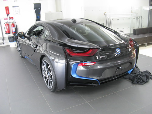 cars electric bmw coupe i8