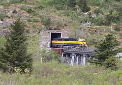 Bear Valley, Alaska (UW1983) Tags: alaska trains railroads alaskarailroad glacierdiscovery