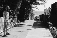 Anninka (Photography by Corey Deshon) Tags: california blackandwhite film 35mm canon photography losangeles model kodak ae1 santamonica socal canonae1 50mmf14 tmax100 filmphotography filmisnotdead mixedgirls originalcontent outforasmoke blackgirlsrock coreydeshon thirteenthfloormedia thirteenthfloormediacom