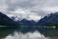 Aachensee, Austria - 14 (www.bazpics.com) Tags: lake holiday alps green water austria see tirol town urlaub may mai alpine maurach oesterreich 2015 aachensee at