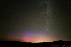 Auroras 23 June 2015  Keith Breazeal (Keith Breazeal Photography) Tags: california nightphotography space aurora astronomy sierranevada cme milkyway starphotography canon5dmarkiii rokinon14mmf28