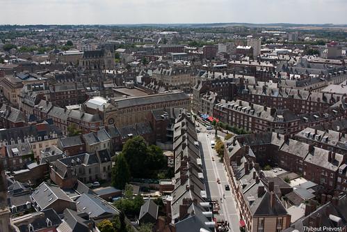 Panorama sur le centre ville