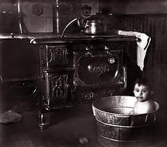 Bath Time, 100 Years Ago (JFGryphon) Tags: bathtime 1915 westonontario ansonmcnish florencemcnish moffatstoveworks