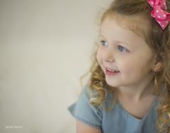 Untitled (Geoff Mock) Tags: girl child studio naturallight blue portrait nikon nikond610 nikon50mmf14