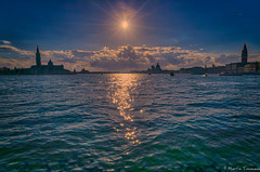 Sun over Venice today (martintimmann) Tags: water sun sky venice italy venezia veneto italien it