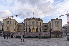 Oslo, Norway (Ingunn Eriksen) Tags: oslo norway architecture sky street nikond750 nikon europe europeonflickr stortinget