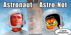PopFig: Astronaut and ... (JD Hancock) Tags: jdhancock popfig comics lol webcomics geeky photocomics fun funny steveaustin garfield sixmilliondollarman