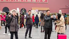 自拍(Selfies) (C80/西八零) Tags: tiananmensquare china selfportrait
