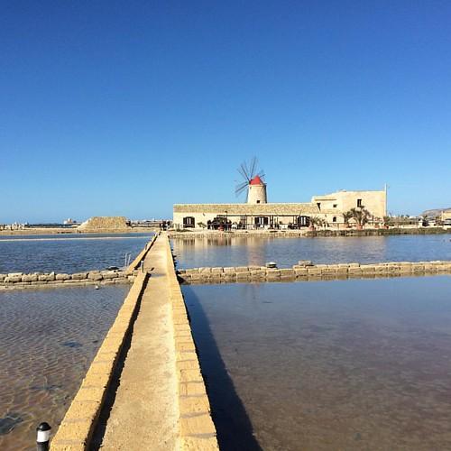 Passeggiata alle Saline di Nubia #trapani un posto magico #sicily #sicilia #instatravel #instasicily @sicily_awesome