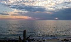 Private shores. (lada/photo) Tags: florida gulfofmexico sunset clouds horizon ladaphoto