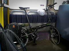 Tern Link P24h: On the train (tomsbiketrip.com) Tags: travel bike bicycle cycling tour taiwan cycle tern touring folding tourer biologic cycletouring tourbag reecharge travellerrack linkp24h