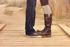 Shoe-love (Anna Gorin) Tags: cute love feet fashion canon boot shoe engagement shoes legs boots adorable idaho boise jeans converse 7d tamron twopeople legwarmers engagementsession 2875mm tamron2875mmf28 tamronspaf2875mmf28xrdildasphericalif