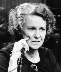 Geraldine Page inThe Pope of Greenwich Village (barrynow2008) Tags: 1980sportraits 1980smovies 1984movies cbk movies pagegeraldine actress geraldinepage greenwich pope village 1984 movie film picture rosary motion academy awards supporting nominee role performance mrsritter mother oscar character best