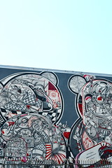 Raoul and David Perre (alcieme) Tags: color graffiti la losangeles wallart dtla grafart artsdistrict lafreewallsproject