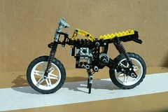 LEGO  scrambling motorcycle 9 (Elsie esq.) Tags: model lego technic motorcycle meccano scrambling
