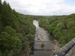View of the South Tyne from Lambley Viaduct on the Haltwhistle to Alston Rail (penlea1954) Tags: old heritage stone river south north railway arches tyne viaduct trust pennine alston opened haltwhistle lambley